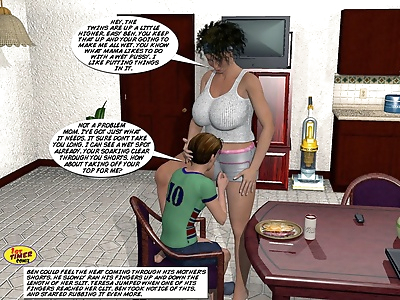 Incest3D- Mom and Son Pool..