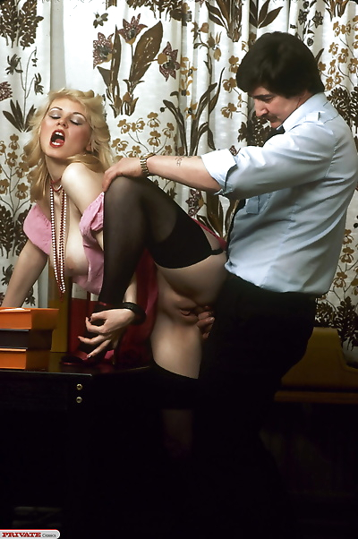 Vintage secretary with very..