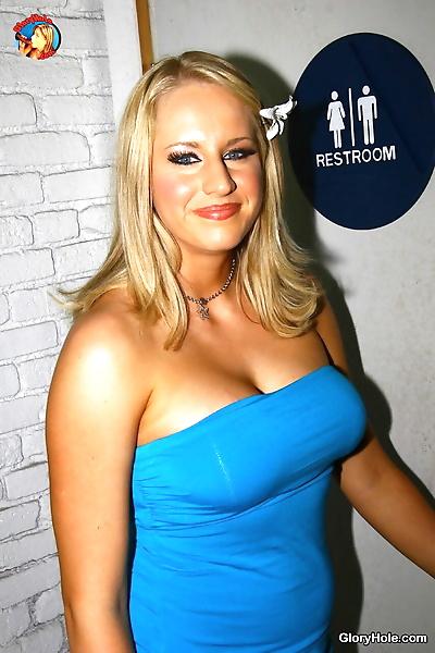 Tall blonde Cassady Blue..