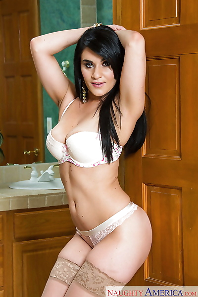 Latina babe and wife Charley..