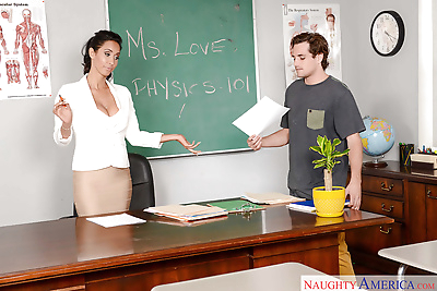 Latina teacher Isis Love..
