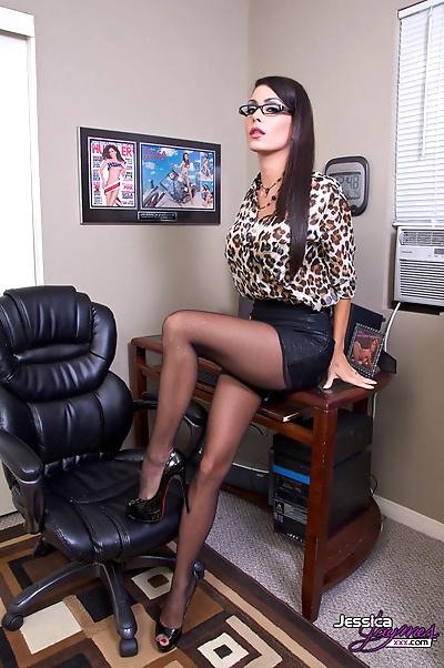 Sexy secretary Jessica..