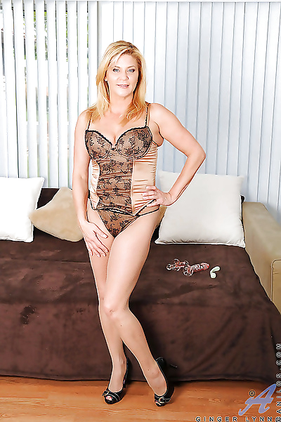 Hot mom in sexy lingerie..