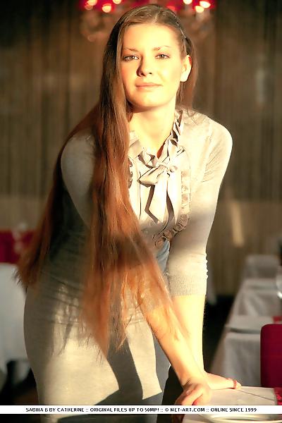 Fresh faced glamour girl..