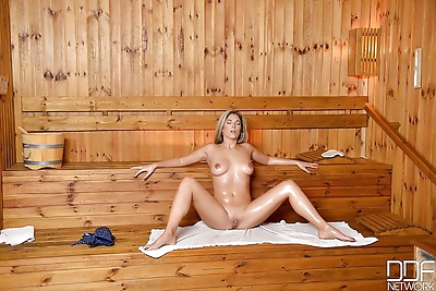 Busty Euro babe Eva Parcker..