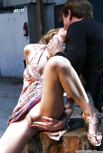 Hot pornstar with big tits..