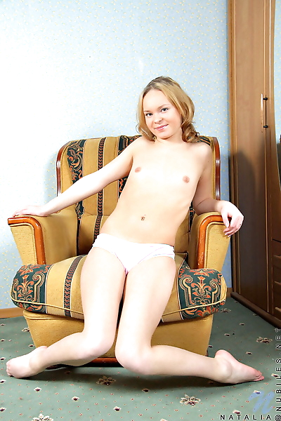 Naughty nubile gets ready..