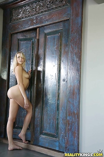 Young blonde gets her..
