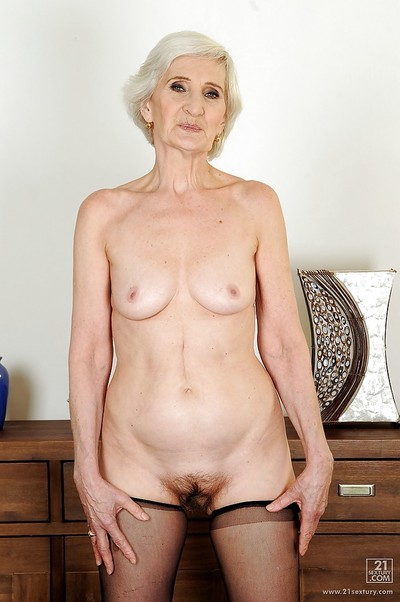 Very old lady Viviana with..